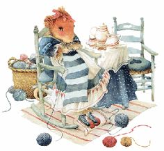 *Vera Mouse knitting*