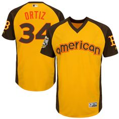867c1323 Men's Kansas City Royals Salvador Perez Majestic Yellow 2016 MLB All-Star  Game Cool Base Batting Practice Player Jersey