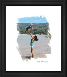Brushed Moments Framed Print, Black, Classic, White, White, Single piece, 16 x 20 inches, White