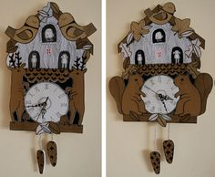 Kate Sutton's  clocks
