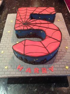 gateau spiderman pour garcon de cinq ans