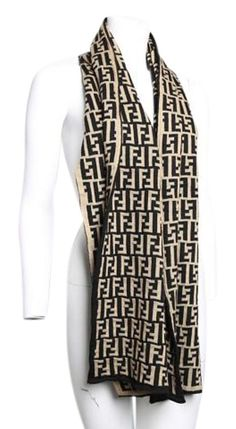 700c38695793 Fendi Scarves   Wraps - Up to 70% off at Tradesy