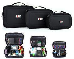 Large Capacity Camera Gear Storage Bag Organizers (3-piece set)