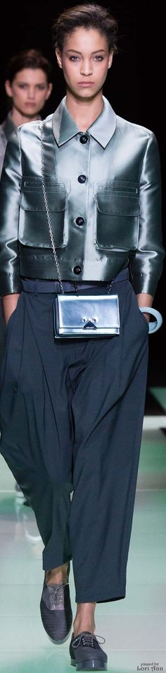 Emporio Armani from the Menswear Collection 2016