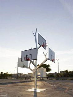 Basketball Tree