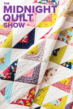Time to get your imagination in (free) motion! The #MidnightQuiltShow is going wild with the FMQ on this one.