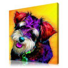 Beautiful pop art pet portraits  ..  check it out.