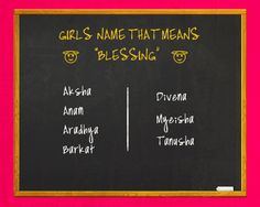 This time we did something different We bring you baby girl names that mean Blessing, which one is your favourite! Share or let you know if you want to know some special baby names #babyname #boyname #girlname #name #baby #Blessing
