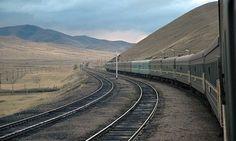 Ten stops on the Trans-Siberian Railway.