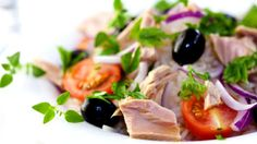 Tuna for a Diabetic Tuna Salad, Caprese Salad, French Soup, Taste And See, Cooking Recipes, Healthy Recipes, Onion Soup, Cold Meals, French Onion