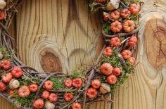 Fall Wreath Mini Pumpkins ~ roseflower48 by eleanor