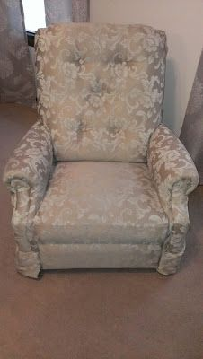 Lazyboy Makeover How To Reupholster A Recliner Lazy Boy Pinterest Furniture And