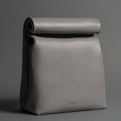 Fog Leather Lunch Bag-MORECA