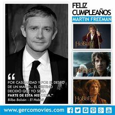 El 8 de septiembre de 1971 nace el actor inglés #MartinFreeman, Uno de los Hobbit más famosos y el fiel compañero de Sherlock.(El Hobbit, Fargo, Love Actually, Hot Fuzz).