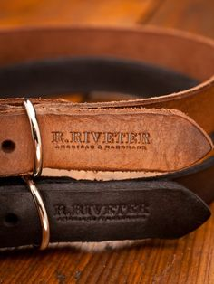 Leather Engraved Dog Collars