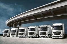 Программа заводского финансирования для новой грузовой и коммерческой техники Mercedes-Benz от Daimler AG