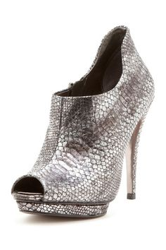 BCBGMAXAZRIA Nitai Peep-Toe Bootie by Boot Boutique on @HauteLook