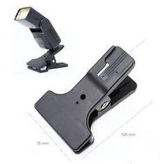 Wholesale Hotshoe Coldshoe Clip Clamp Mount for Canon Nikon YongNuo YN600EX RT Flash Speedlite Aputure H198C AL Led Video Light