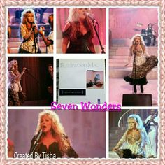 Stevie Nicks with Fleetwood Mac Seven Wonders Collage 08/17/15