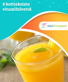 8 kotitekoista vitamiinivettä   Terveellisin juoma, jota tulisi nauttia joka päivä, on tietenkin vesi. Lisäämällä veteen #hedelmiä ja marjoja saat aikaan #herkullisen #vitamiiniveden.  #Reseptit