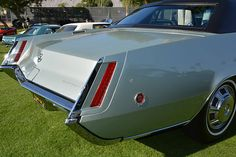 This is cool amongst the other images because of how thin and dynamic the sides are, they are so knife-like and angular that give it so much energy. Cadillac Eldorado, Cadillac Ct6, All Cars, Dream Garage, Cars Motorcycles, Luxury Cars, Classic Cars, Inspired, Nice