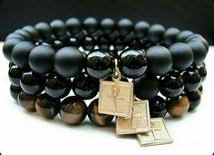 Bracelet Cross of Life .Pietra Natural 3 models