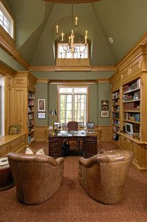 Old English Home Office Design Ideas, Pictures, Remodel and Decor
