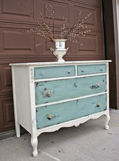 Antique Recreation: At Long Last Dresser Makeovers Antique Long Recreation Repainting Furniture, Refurbished Furniture, Paint Furniture, Repurposed Furniture, Shabby Chic Furniture, Furniture Projects, Furniture Makeover, Furniture Design, Antique Furniture