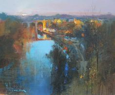 River Knidd Knaresborough by Peter Wileman PPROI RSMA EAGMA FRSA