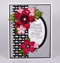 Stampin Up Botanical Blooms card by Kristi @ www.stampingiwthkristi.com