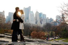 I would love, love, LOVE to have engagement photos taken in NYC.