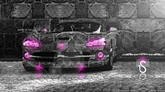 Dodge-Viper-Crystal-Stone-Car-2013-Pink-Neon-HD-Wallpapers-design-by-Tony-Kokhan