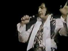Elvis on stage in Pittsburg in december 31 1976.