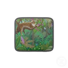 Jungle Leopard iPad/iPad 2/Macbook Air Sleeve