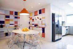 Decorações inspiradas na obra de Mondrian | Dicas de Decoração | Blog de Decoração LojasKD