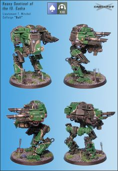 "CoolMiniOrNot - ""Bull"" - Heavy Sentinel (GW-Sentinel conversion) by Crackpot"