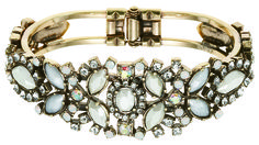 The Nouveau Bracelet is an elegant accent to any classic or #vintage #wedding