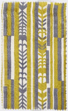 This is a simple example, but the Wiener Werkstatte designed some seriously amazing textiles. I'd love to have a skirt made from something like this.