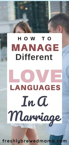 Everyone has a unique love language, and sometimes you and your spouse have different love languages. If you struggle with communication issues in your relationship, check to see if love languages are at the root and try some of these ways to manage having different love languages in a marriage #lovelanguages #marriage #marriagegoals #workingmoms