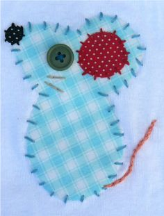 Mouse Applique