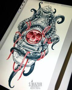 Свободен  #tattoo #tattoos #tattooed #ship #art #artist #sketch #sketching #flash #flashing #japan #draw #drawing #ipadpro #tiger #oldschool #ipaddrawing #createpro #eye #skull #neotraditionaltattoo #neotradsub #neotraditional #brightinktattoostudio #mazurtattoo #octopus