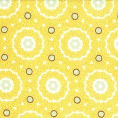 Origins by Basic Grey for Moda Fabrics-Refresh-Yellow Dot-1 Yard.. $9.50, via Etsy.