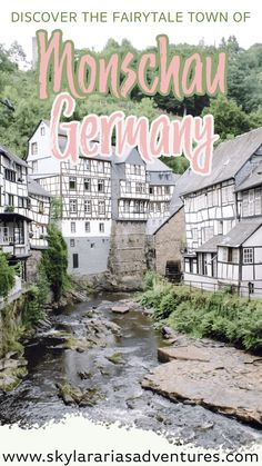Our road trips through Germany in search of fairytale towns, takes us to Monschau, Germany. You can easily discover Monschau Germany in one day. Road Trip Europe, Europe Travel Tips, European Travel, Travel Destinations, Cities In Germany, Visit Germany, Germany Travel, Best Places To Eat, Cool Places To Visit