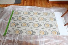 How to Cover a Roller Shade with Fabric