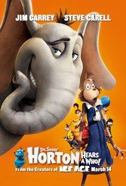 Horton the Elephant struggles to protect a microscopic community from his neighbors who refuse to believe it exists.