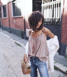 Related posts:The hair I likeHair & makeup time!Fashion trends 2015 for women Boho Fashion, Fashion Beauty, Fashion Outfits, Holiday Outfits, Spring Outfits, Casual Outfits, Cute Outfits, Mein Style, Best Jeans