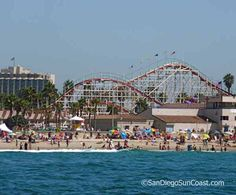 Mission Beach, Belmont Park. San Diego, CA