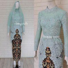 Fashion nova outfits work ideas for 2019 Kebaya Modern Hijab, Kebaya Hijab, Kebaya Dress, Batik Kebaya, Kebaya Muslim, Modern Abaya, Trendy Dresses, Nice Dresses, Fashion Dresses