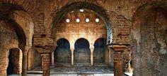 El Bañuelo, los verdaderos baños árabes de Granada- El Bañuelo o Baños del Nogal