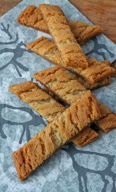 Leena's Finnish Slice Cookies are now my favorite cookie in the world. But one thing is better and that's Leena herself. Cookie Desserts, Cookie Recipes, Dessert Recipes, Finnish Cuisine, Biscuits, Finnish Recipes, Scandinavian Food, Pain, Food And Drink